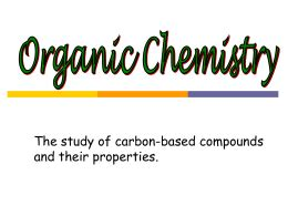Research articles organic chemistry